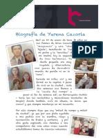 Biografía de Yurena Cazorla