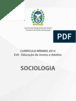 SOCIOLOGIA EJA Seeduc - RJ