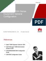 16-OTA105201 OptiX OSN series General configuration ISSUE1.00.ppt