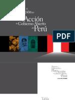 Proceso de Elaboración del Plan de Acción OGP de Perú