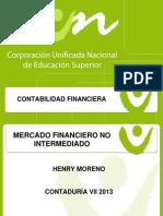 Mercado Financiero No Intermediado