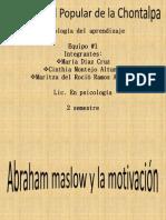 Exposicion de Psicologia Del Aprendizaje