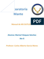 Marislo Vazquez Sanchez Trabajo de Ms Outlook