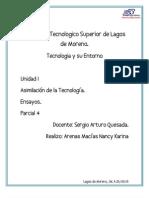 ensayos Tecnologia y su Entorno .pdf