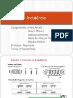 Indutância - slide