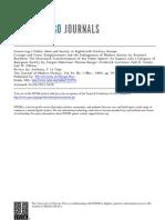 La Vopa, Sobre Habermas y Koselleck