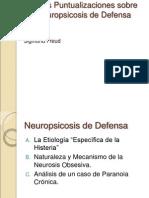 Nuevas Puntualizaciones Sobre Las Neuropsicosis de Defensa 1896