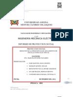 Proyeccion Social Universidas Andina Nestor Caceres Velasquez Juliaca