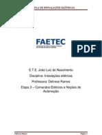 Instalações Elétricas_Comandos elétricos e automação (Etapa 3)