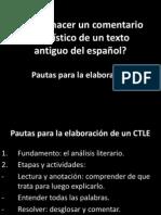 Cómo hacer un comentario lingüístico de un texto antiguo del español.pdf