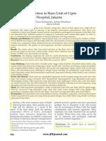 Danu Mahandaru Aditya Wardhana . Nosocomial Infection in Burn Unit of Cipto Mangunkusumo Hospital Jakarta . 2012 . Jurnal Plastik Rekonstruksi Volume 1 Number 3 Page 352 356 April 2012