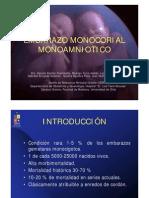 UChile Embarazo Monocorial Monoamniotico
