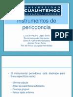 Instrumentos de Periodoncia