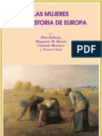 Mujeres Historia de Europa
