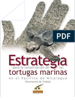 Estrategia para la conservación de las tortugas marinas en el Pacifico de Nicaragua Documento de Trabajo