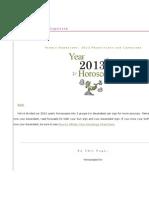 2013 Horoscope Capricorn