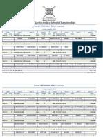 2013 CSSRA Preliminary Draws