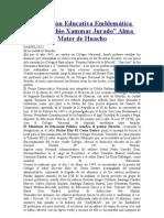 LUIS FABIO XAMMAR_ RESEÑA HISTÓRICA L.F.X.J.