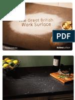 Kronosurface Worktop Brochure