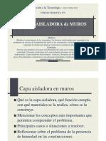 Int. Tecnolo. 2012 - Guia de Clase CAPA AISLADORA
