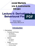 FMII Lecture 6 2012
