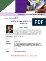 21 Abril 2010 Programa Promocional Pavimentos Flexibles