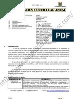 MODELO DE PROGRAMACIÓN ANUAL IE FRANACICO IRAZOLA 5° GRADO-ÁREA DE COMUNICACIÓN