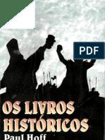 os livros históricos - paul hoff