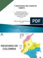 Toerias y Enfoques Del Espacio Tiempo Regiones de Colombia (1) (1)