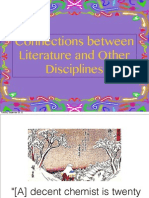 Connections between Literature and Other Disciplines