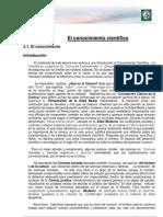 Módulo 1- Lectura 2- El conocimiento científico. Ciencia y ciencia del derecho