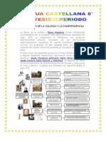 Sintesis de Periodo Lengua Castellana 8