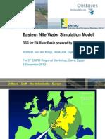 Dr. Wil_Eastern Nile Water Simulation Model Based on RIBASIM V9 (Wil)