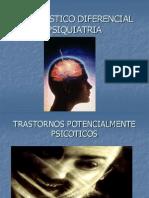 DIAGNOSTICO DIFERENCIAL PSIQUIATRIA