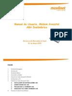 Manual Del Usuario Modem Axesstel