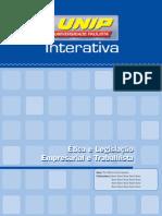 Ética e Legislação Empresarial e Trabalhista_Unidade I