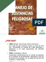 Manejo de Sustancias Peligrosas 2002
