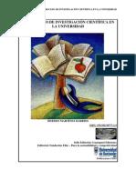 EL PROCESO DE INVESTIGACIÓN CIENTÍFICA EN LA UNIVERSIDAD - HERMES MARTINEZ BARRIOS - GUATAPURI