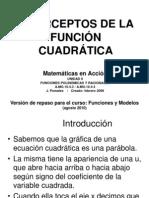 38700362 Interceptos x de La Funcion Cuadratica Grado 11 BLANCO Y NEGRO