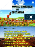 Economic Dimension of Education.pptx