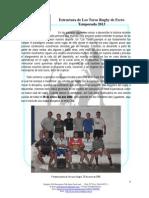 Proyecto Los Toros 2013