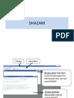 Shazam Ppt