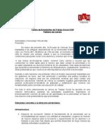 Petitorio Trabajo Social UVM Estudiantes
