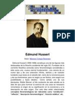 Philosophica Enciclopedia Edmund Husserl