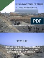 Carretera Paita La Islilla
