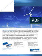 Maxwell Ultracapacitor Wind Solution