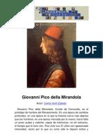 Philosophica Enciclopedia Giovanni Pico Della Mirandola