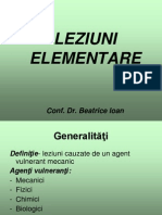 LEZIUNI ELEMENTARE