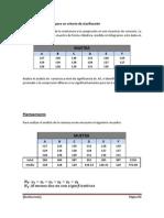 3.-Análisis de la varianza para un criterio de clasificación