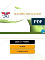 Company Profile Beje